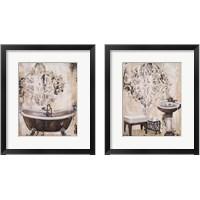 Framed Bronze Bath 2 Piece Framed Art Print Set