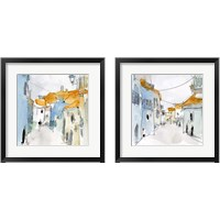 Framed Along the Spanish Sidewalk 2 Piece Framed Art Print Set