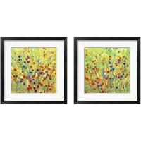 Framed Wildflower Patch 2 Piece Framed Art Print Set