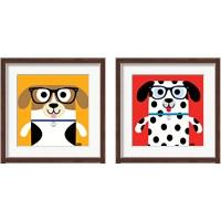 Framed Bow Wow Dogs 2 Piece Framed Art Print Set