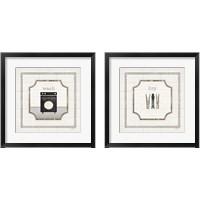 Framed Laundry 2 Piece Framed Art Print Set