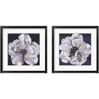 Framed Blue & White Floral 2 Piece Framed Art Print Set