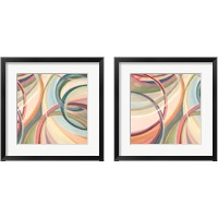 Framed Overlapping Rings 2 Piece Framed Art Print Set