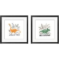 Framed Dino Inspiration 2 Piece Framed Art Print Set
