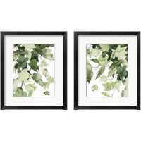 Framed Emerald Vines 2 Piece Framed Art Print Set