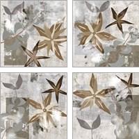Framed Autumn Forest 4 Piece Art Print Set