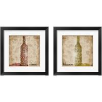 Framed Type of Wine 2 Piece Framed Art Print Set