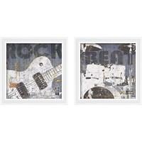 Framed Rock Concert 2 Piece Framed Art Print Set