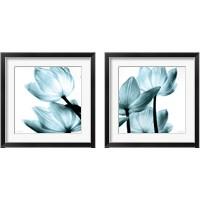 Framed Translucent Tulips 2 Piece Framed Art Print Set