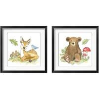 Framed Baby Woodland 2 Piece Framed Art Print Set
