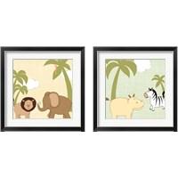 Framed Baby Jungle 2 Piece Framed Art Print Set