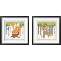 Framed Woodland Hideaway 2 Piece Framed Art Print Set