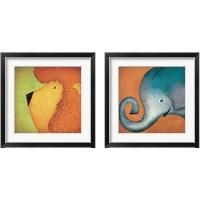 Framed Animal WOW 2 Piece Framed Art Print Set