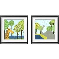 Framed Jungle Fun 2 Piece Framed Art Print Set