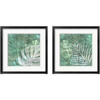 Framed Textured Sentiment Tropic 2 Piece Framed Art Print Set