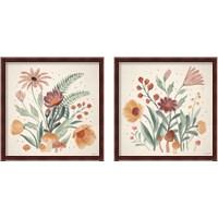 Framed Cottage Botanical 2 Piece Framed Art Print Set