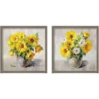 Framed Sunflower Still Life 2 Piece Framed Art Print Set