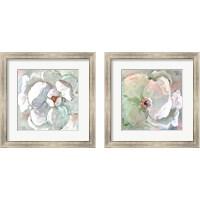 Framed Contemporary Floral 2 Piece Framed Art Print Set