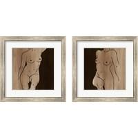 Framed Mud Bath 2 Piece Framed Art Print Set
