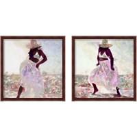 Framed Her Colorful Dance 2 Piece Framed Art Print Set