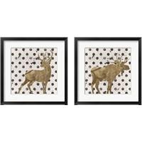 Framed Forest Glam Animal 2 Piece Framed Art Print Set