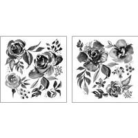 Framed Delft Delight Black 2 Piece Art Print Set