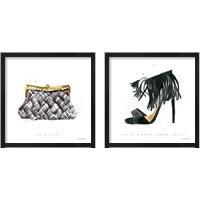 Framed Glitz and Glam 2 Piece Framed Art Print Set