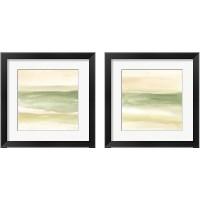 Framed Green Water 2 Piece Framed Art Print Set