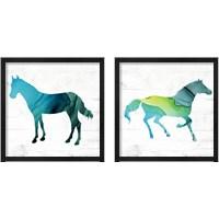 Framed Horse  2 Piece Framed Art Print Set