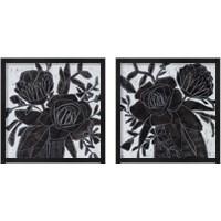 Framed Chalkboard Garden 2 Piece Framed Art Print Set