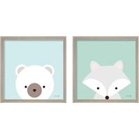 Framed Cuddly Animal 2 Piece Framed Art Print Set
