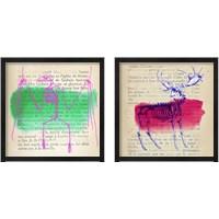 Framed Memories of the Wild 2 Piece Framed Art Print Set
