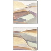 Framed Canyon Rim 2 Piece Canvas Print Set