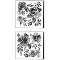 Framed Delft Delight Black 2 Piece Canvas Print Set
