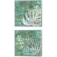 Framed Textured Sentiment Tropic 2 Piece Canvas Print Set
