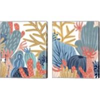 Framed Paper Reef 2 Piece Canvas Print Set