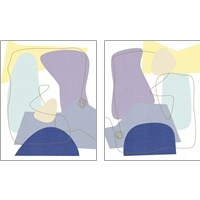 Framed Luminous Bay 2 Piece Art Print Set