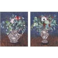 Framed Night Bouquet 2 Piece Art Print Set