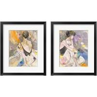 Framed Ballerina 2 Piece Framed Art Print Set