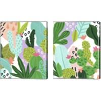 Framed Party Plants 2 Piece Canvas Print Set
