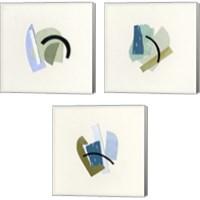 Framed Bits & Pieces 3 Piece Canvas Print Set