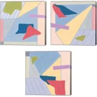 Framed Radiant Light 3 Piece Canvas Print Set