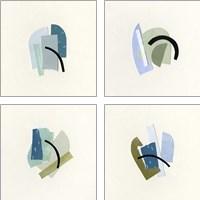 Framed Bits & Pieces 4 Piece Art Print Set