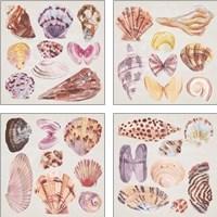 Framed Ocean Sounds 4 Piece Art Print Set