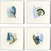 Framed Bits & Pieces 4 Piece Canvas Print Set