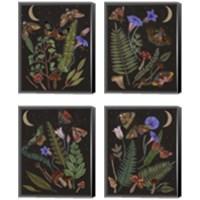 Framed Dark Forest 4 Piece Canvas Print Set