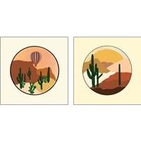 Framed Desert 2 Piece Art Print Set