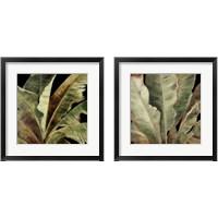 Framed Uraba Palm on Black 2 Piece Framed Art Print Set