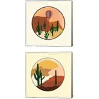 Framed Desert 2 Piece Canvas Print Set