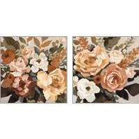 Framed Autumnal Arrangement 2 Piece Art Print Set
